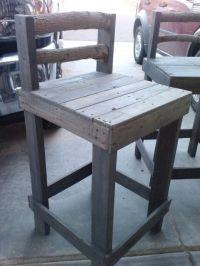 Pallet bar stool | Great Design | Pinterest