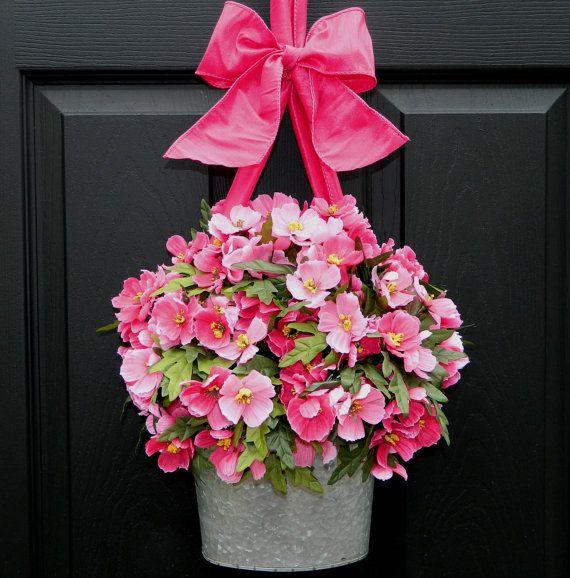 Outdoor Wreath   Summer Wreath  Front Door by EverBloomingOriginal,