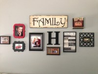 Wall collage   decorating ideas   Pinterest