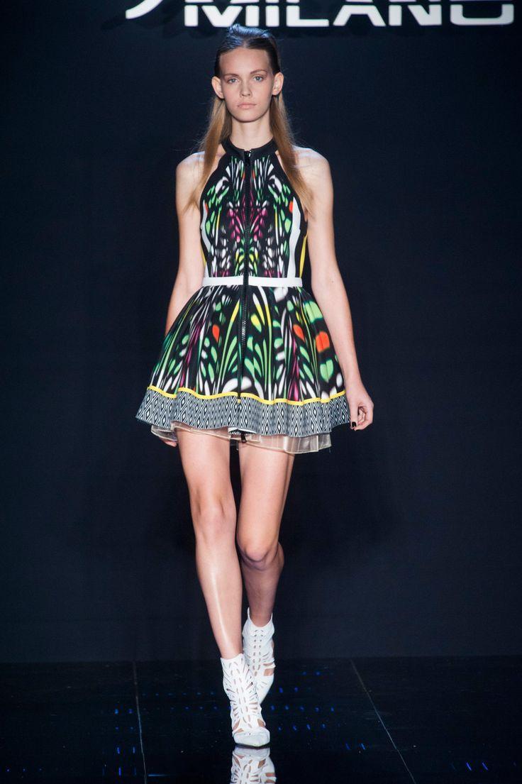 Byblos Milano at Milan Fashion Week Spring 2014 - StyleBistro