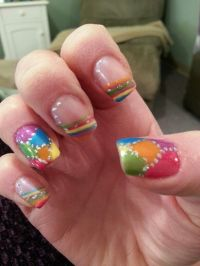 Multi Colored Nail Designs | www.imgkid.com - The Image ...