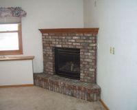 corner fireplace design ideas | Brick Corner Fireplace ...