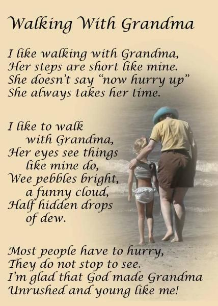 Walking With Grandma