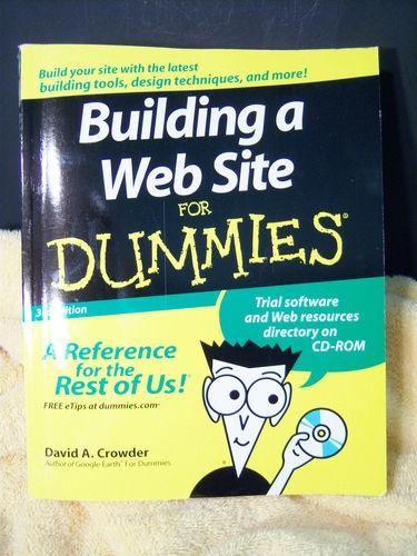 Building a Website for Dummies David Crowder 2007 3rd Edition w CD-ROM