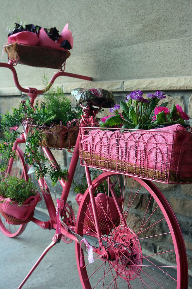 Awesome garden bicycle!