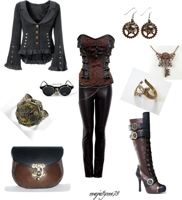 """My Steampunk Set (34th)"" by majatyme on Polyvore"