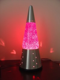 PINK Glitter Lamp | My Pink World | Pinterest