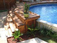 Backyard Above Ground Pool Design Ideas | Mystical Designs ...