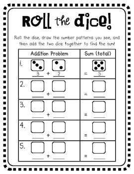 Dice Addition (Roll and Add!)