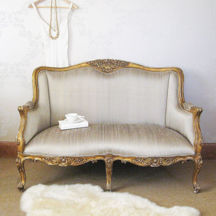 Versailles Bedroom Sofa by The French Bedroom Company