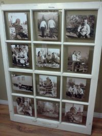 Old barn window picture frame | Make it, create it ...