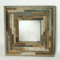 reclaimed barnwood mirrors | You've Been Framed | Pinterest
