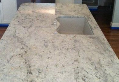 Granite For Kitchen On Pinterest White Granite Granite