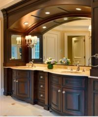 Dream bathroom. His and hers sinks | Master bedroom/bath ...