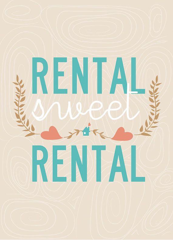 """""""Rental Sweet Rental"""" #welcomehome #pegasuspins"""