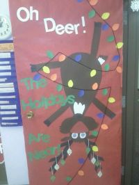 Christmas Door Decorating Ideas School