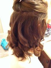 diy prom hair formal dress