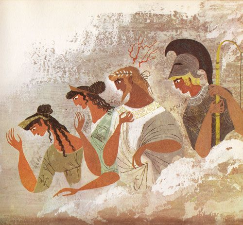 Homer for Young Readers: The Provensens' Vibrant Vintage Illustrations for the Iliad & Odyssey | Brain Pickings