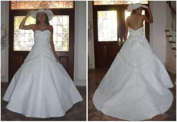 DUCT TAPE WEDDING DRESS  Duct Tape Designs  Pinterest