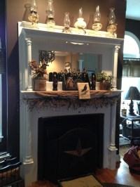 Primitive mantle | Mantels and Fireplace | Pinterest