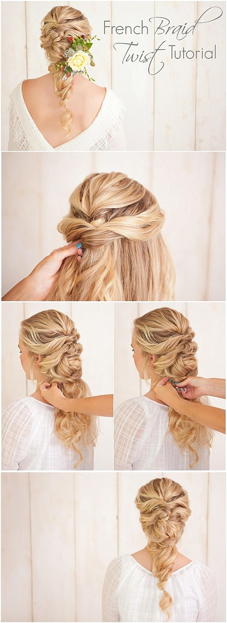 Your wedding WARKOCZ FRANCUSKIFrench braid twist