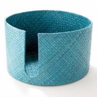 Turquoise Pandan Plate Holder | Worldmarket | Pinterest