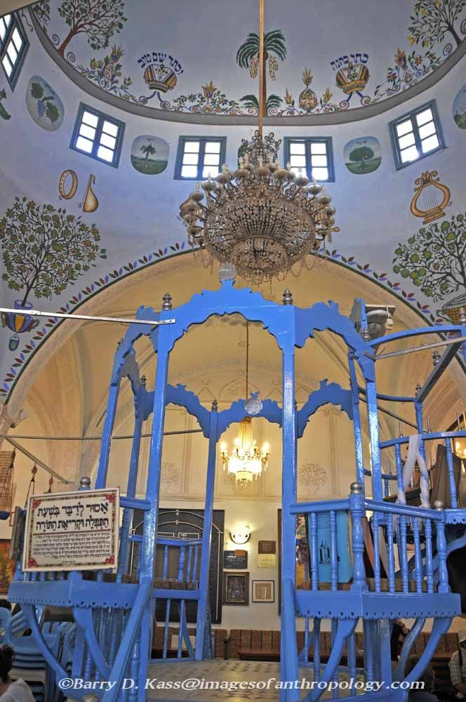 Old synagogue in Safed