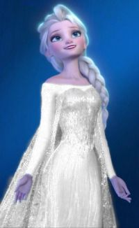 Elsa Wedding | frozen elsa wedding dress disney pinterest ...