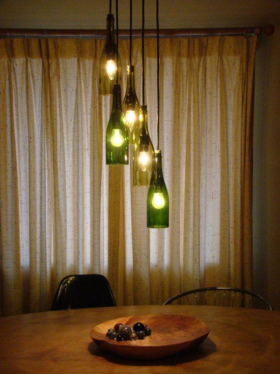 Upcycled Lighting #G2Bottle Cutter #bottleart #upcycle