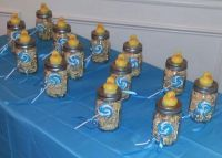 DIY Mason jar favors for baby shower | MasonJar Ideas ...