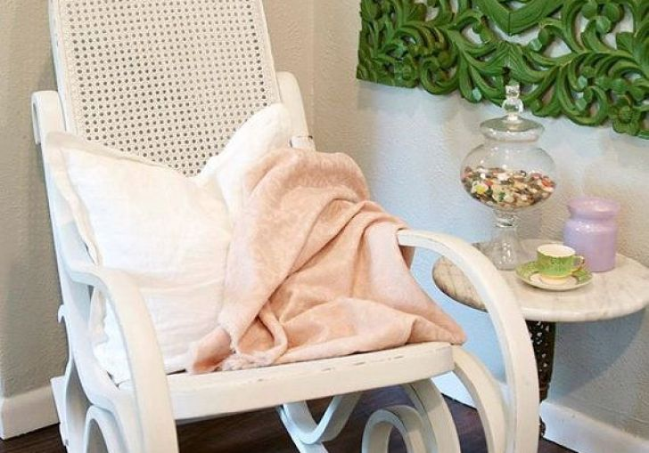 Pink Rocking Chair For Nursery