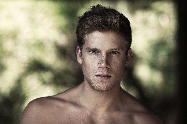 Victor Santiago | Fashion and Beauty Photographer   blonde male model freckles - Andrea Dal Soglio