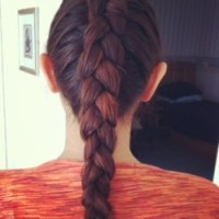 Outside French Braid | Holy Hair! | Pinterest