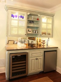 Wet bar | Basement Ideas | Pinterest