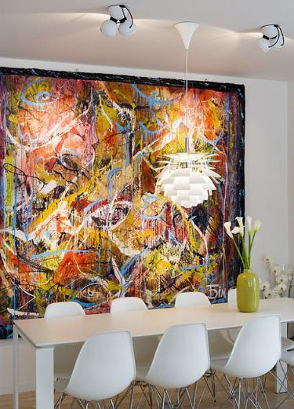 Oversized and large art