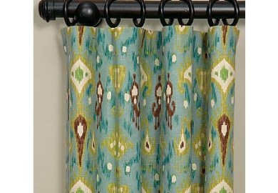 Turquoise Panel Curtains Beso