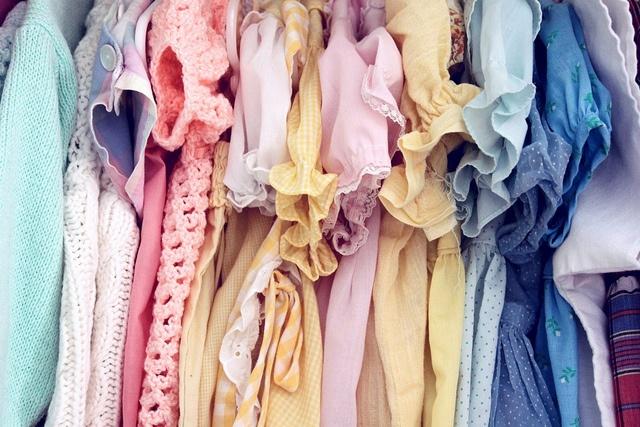 pastel vintage dresses for a sweet little girl!
