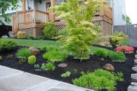 1 Landscaping: Front Yard Landscaping Ideas With Mulch