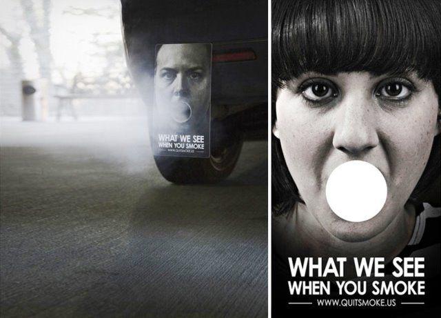 Iklan kesehatan tentang Rokok | Contoh Poster Pamflet Iklan Layanan M ...