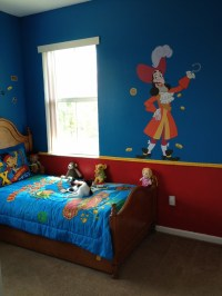 Jake and the neverland pirate bedroom