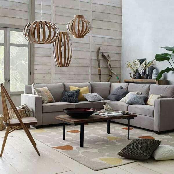 Living room via West Elm  Interiors  Design  Pinterest