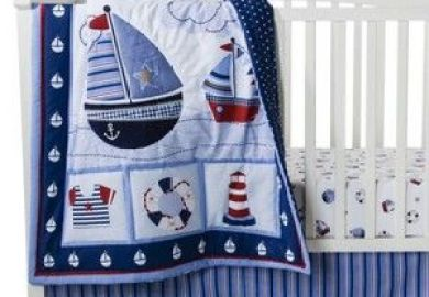 Nautical Baby Bedding Target