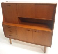 Vintage Teak G Plan Highboard Sideboard Retro 70s Century