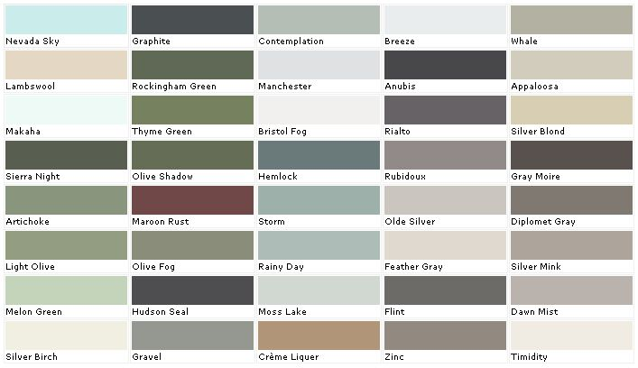 valspar exterior paint colors chart. Black Bedroom Furniture Sets. Home Design Ideas
