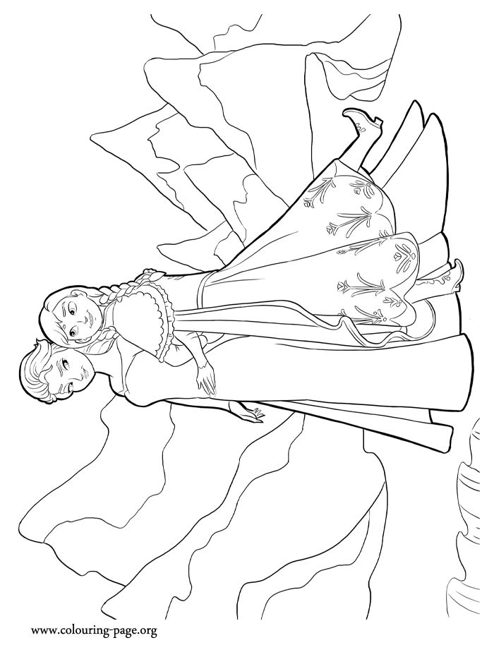 Halloween Coloring Page Elsa Let It Go Coloring Pages