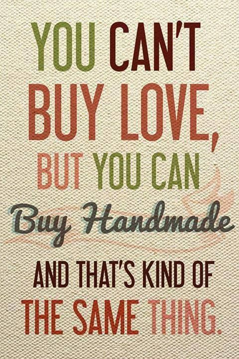 Handmade = Love