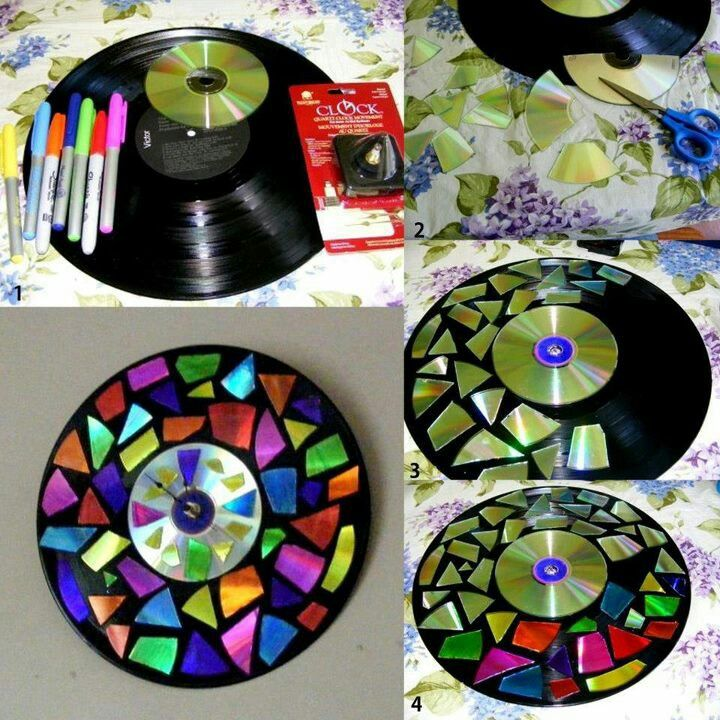 Repurpose CDs and DVDs | ecogreenlove
