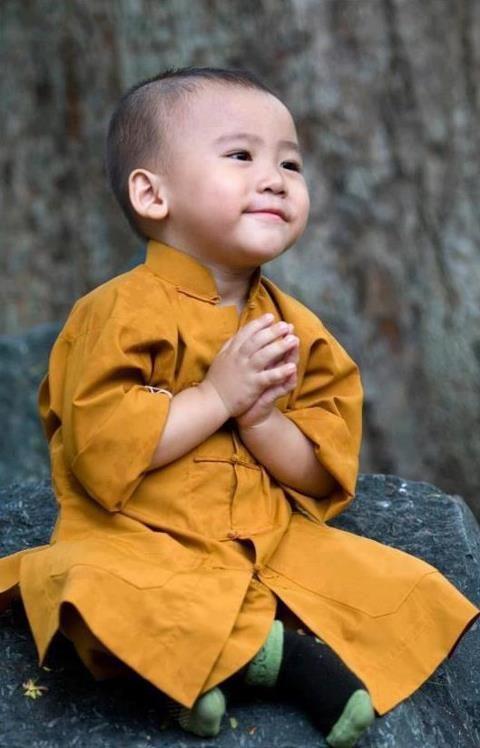 Namaste - no words needed
