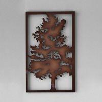 'Rustic Tree' Metal Wall Art | Rustic art | Pinterest