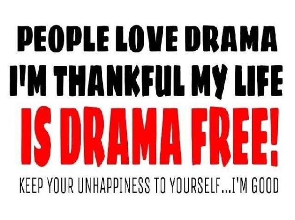 No more drama!! Join the NO DRAMA ZONE! Pinterest